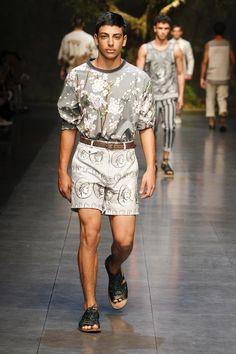Dolce & Gabbana Man Catwalk Photo Gallery – Fashion Show Summer 2014