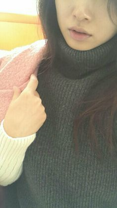 with Turtleneck Knit  http://www.styleonme.com/shop/view.php?index_no=28768