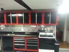 Craftsman Garage Kitchen.  I think so.