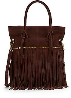 Lucky Brand Nirvana Suede Fringed Crossbody Tote on shopstyle.com