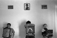 Island of Patmos. Children waiting for the start of the procession during which they will carry the icons. Open Shutters, Greece Photography, Alfred Stieglitz, Photographer Portfolio, Magnum Photos, Old Photos, Sociology, Farmer, Waiting