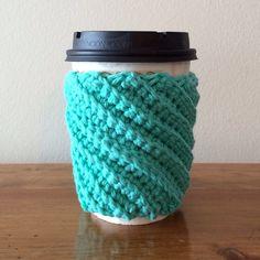 Crocheted Coffee Cozy - Cup Sleeve