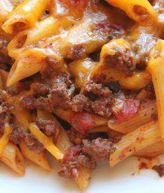 Cheesy Ground Beef Slow Cooker Recipe | AllFreeSlowCookerRecipes.com