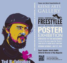 Reggae Poster Art | Solo Exhibition of Michael Thompson aka Freestylee, Artist Without Borders