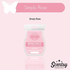 Scentsy Bring Back My Bar January 2016 - Simply Rose #bbmb #scentsbykris