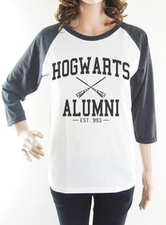 Hogwarts Alumni shirt harry potter shirt women shirt by loveTshirt, $16.99