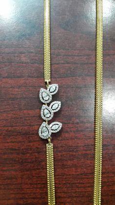 Gold Temple Jewellery, Gold Jewellery Design, Gold Chain Design, Gold Jewelry Simple, Gold Earrings Designs, Wedding, Valentines Day Weddings, Weddings, Marriage