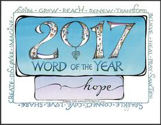 FREE WORD OF THE YEAR DOWNLOADS, and MUCH more, on this week's Zenspirations Blog! Check it out! zenspirations_by_joanne_fink_blog_2017_word_of_the_year_full_color