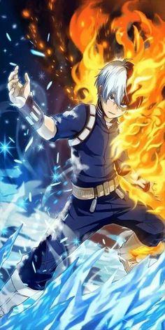 Shoto Todoroki Wallpaper Engine Hero, Hero academia
