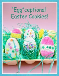 "Transform sugar cookies into something ""Egg"" cellent!   cookietwist.com"