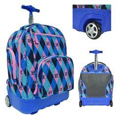 BUY Boys School Backpack Rolling Book Bag Wheeled Roller Carry On Kids Luggage Tote DanAnnStore