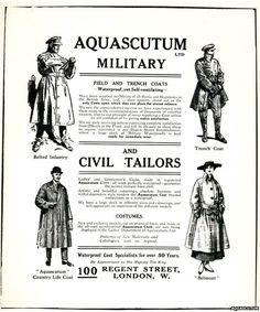 Aquascutum advert Vintage Gentleman fb0016434202