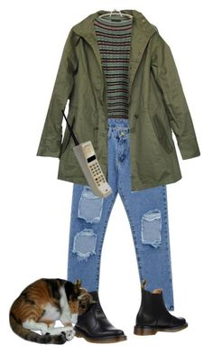 A fashion look from January 2016 featuring Prada tops, Chicnova Fashion capris and Dr. Browse and shop related looks. Indie Outfits, Grunge Outfits, Style Outfits, Cute Outfits, Grunge Shoes, Indie Fashion, Aesthetic Fashion, Aesthetic Clothes, Look Fashion