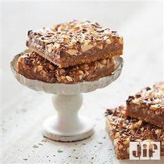 Chocolate Peanut Butter Magic Bars from Jif�