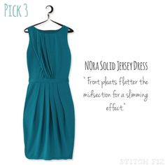 nora solid jersey dress