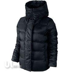 Nike Uptown 550 Down Hooded Damen Jacke Frauen Winter Daunenjacke Steppjacke XS