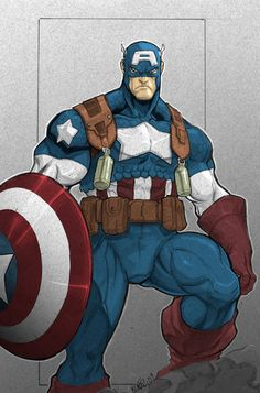 Cpt. America by ~gonzo723 on deviantART