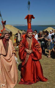 Golden Horde clothes . Костюмы знатных дам. Золотая Орда, Юань
