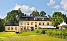 Hennickehammars Mansion, a Mansion property, located in Värmland, Sweden Mansion Hotel, Country House Hotels, Bold And The Beautiful, Country Estate, Sweden, Mansions, Luxury, House Styles, Countryside