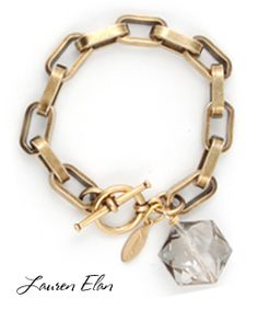 chunky gold link bracelet - been looking for something like for for eh va!