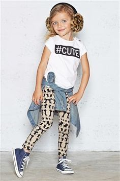 Hashtag Cute T-Shirt (3mths-6yrs) by Next