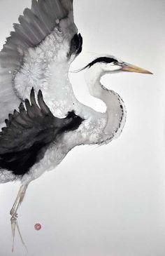 IMAGOblu: corsi di illustrazione, pittura, fumetto, disegno a Bologna   Calligrafia Zen, tiro con l'Arco giapponese e profondo amore per la Natura: l'Arte di Karl Mårtens