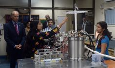 IIT BOMBAY BANS 9 STARTUPS FOR REVOKING, DELAYING PLACEMENT OFFERS File photo of U.S. Vice President Joe Biden (l) as he listens to a scientist explain a Noble Gas Mass Spectrometer instrument during a visit to the Indian Institute of Technology (IIT) in Mumbai on July 25, 2013. Biden urged India to improve investment conditions and remove obstacles faced by http://siliconeer.com/current/iit-bombay-bans-9-startups-for-revoking-delaying-placement-offers/