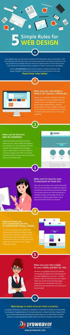 5 Simple Rules for Web Design