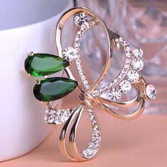 $10 . Aliexpress.com : Buy Luxury Large Wedding Big Rhinestone Ruby Flower Brooches Jewelry Accessories Corsage Hijab Pin Up Broche Strass Scarf Clip Lots from Reliable jewelry making accessories suppliers on Piercing Shop | Alibaba Group