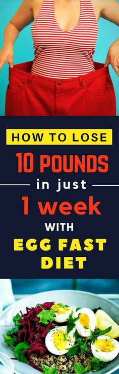 Burn Calories Fast. Egg Fast Diet Plan for Losing Weight Quickly. And, everything else you want to know about the Egg  Diet. #eggfast #eggdiet #keto