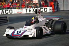 Carlos Pace, Martini Brabham BT44B - Ford-Cosworth DFV 3.0 V8. GP Mónaco 1975.