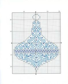 Mixed Blackwork and X-stitch Xmas ornament chart 1 Cross Stitch Christmas Ornaments, Xmas Cross Stitch, Just Cross Stitch, Cross Stitch Kits, Christmas Cross, Cross Stitch Charts, Cross Stitch Designs, Cross Stitch Patterns, Motifs Blackwork