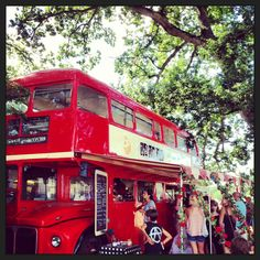 Tea Bus at The Wilderness Festival 2013