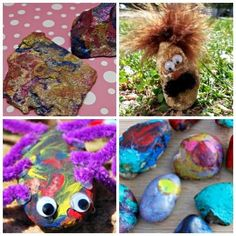 Rock Out: A Dozen Crafts Kids Can Do With Rocks