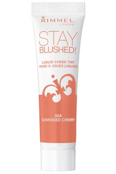 Rimmel London Stay Blushed Liquid Cheek Tint in Sunkissed Cherry, $3, walmart.com.   - HarpersBAZAAR.com