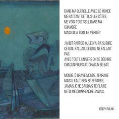 Jankel Adler No Man's Land 1943 Tate / Joseph Rolnik Poèmes (extrait de l'Anthologie de la poésie yiddish) #poesie #francais #yiddish #anthologie #gallimard #art #litterature #litterature #poetry #tate #minimal #french #livres #livre #introvert #poesiegallimard #citations #monde #poemes by littarture http://ift.tt/1XKWlES