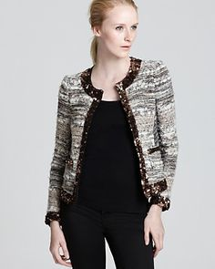 Gryphon Jacket - Tweed Elle | Bloomingdale's