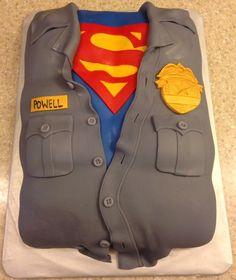Super Policeman Cake