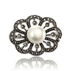 Pearl Earrings, Brooch, Pearls, Jewelry, Pearl Studs, Jewlery, Jewerly, Brooches, Beads