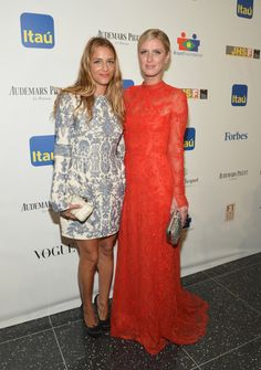 Fabulously Spotted: Charlotte Ronson & Nicky Hilton In Valentino - The 11th BrazilFoundation NYC Gala - http://www.becauseiamfabulous.com/2013/09/charlotte-ronson-nicky-hilton-in-valentino-the-11th-brazilfoundation-nyc-gala/