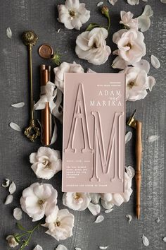 wedding invitations elegant / classic – Invitation Ideas for 2020 Spring Wedding Invitations, Bespoke Wedding Invitations, Elegant Wedding Invitations, Wedding Invitation Design, Wedding Stationery, Invitation Ideas, Wedding Programs, Wedding Matches, Dream Wedding