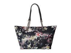 CALVIN KLEIN Florence Printed Nylon Tote. #calvinklein #bags #shoulder bags #hand bags #nylon #tote #lining #