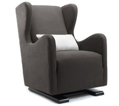 Monte - Vola Glider at 2Modern - charcoal with stone pillow