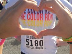 heart the color run.