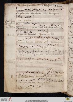 Antiphonarium Cisterciense Salem, um 1200 Cod. Sal. X,6b  Folio 161v
