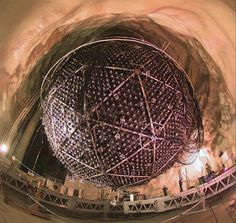 Sudbury Neutrino Observatory (SNOLAB) International Laboratory for Particle Physics Inaugurated In Canada