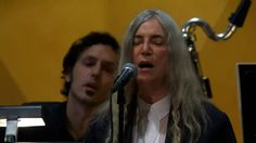 Patti Smith - A Hard Rain's A-Gonna Fall  (Performs For Bob Dylan)
