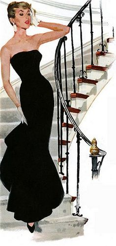 Unknown Artist. This elegant lady appeared in a Pepsi ad in 1956. It is the only ad I know about where the bottle is not in the painting.