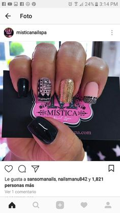 Uñas maria Indian Nails, Beauty Spa, Beautiful Nail Designs, Nail Decorations, Perfect Nails, Art Tips, Manicure And Pedicure, Nail Polish, Nail Art