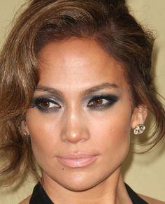 #JenniferLopez #JLo #makeup #beauty #face #celeb #smokeyeyes